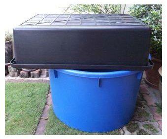 Aquaponics Fish Tank