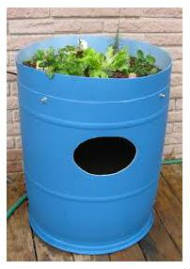 Barrel Aquaponics System