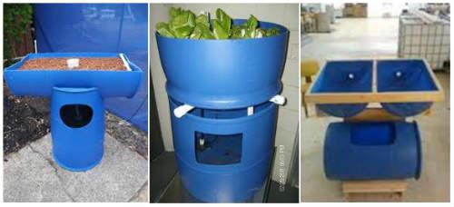 Barrel Aquaponics Design